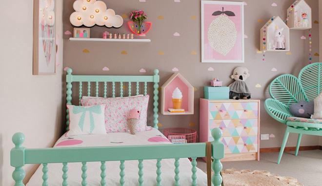 Các mẫu phòng ngủ đẹp nhất cho bé gái