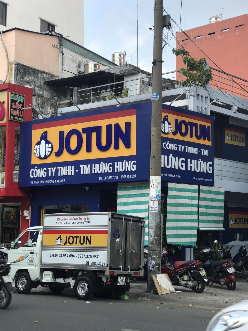 Tại sao phải mua Sơn Jotun ở Trung tâm pha màu chính hãng.