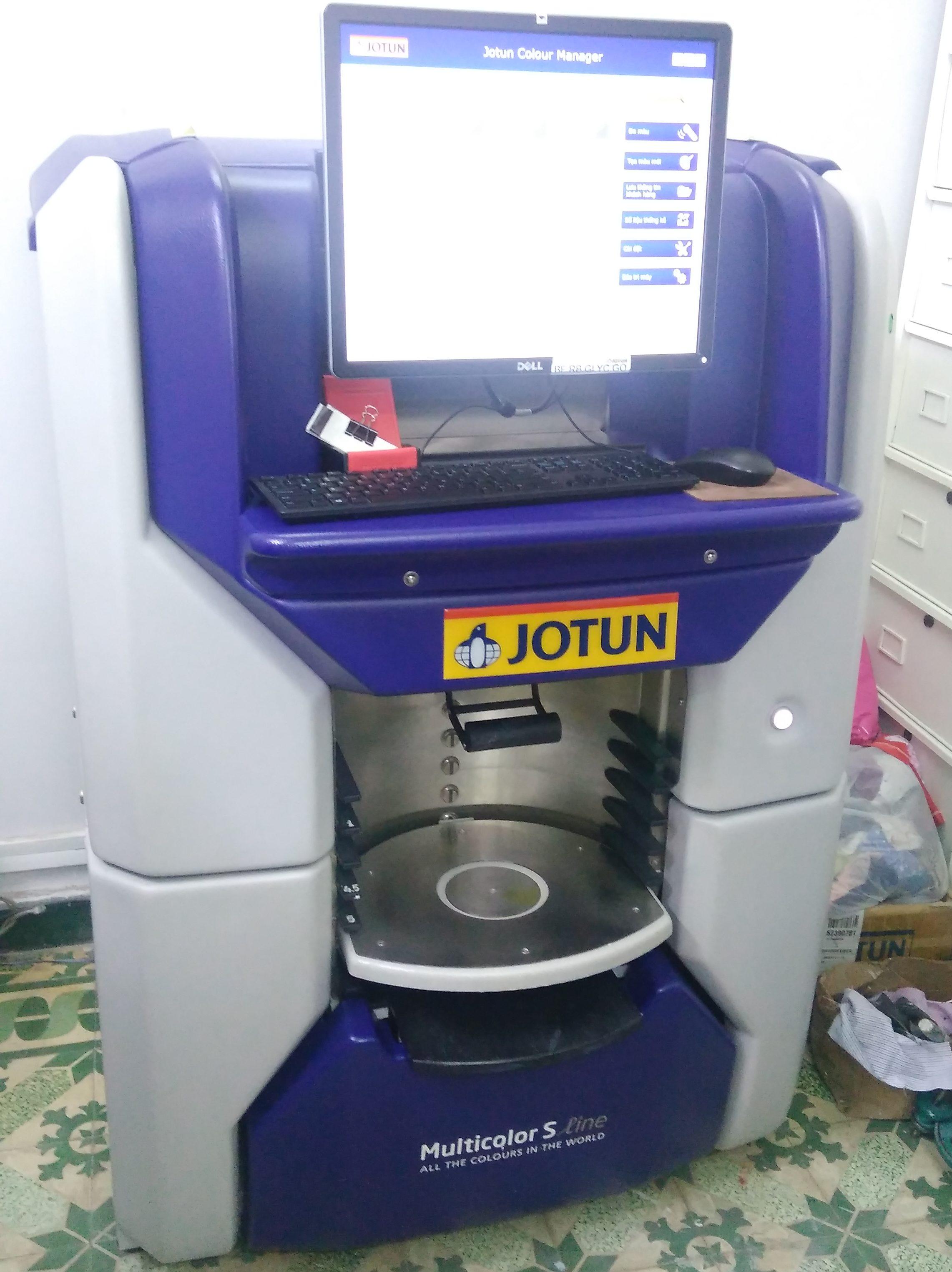 Máy pha màu sơn Jotun