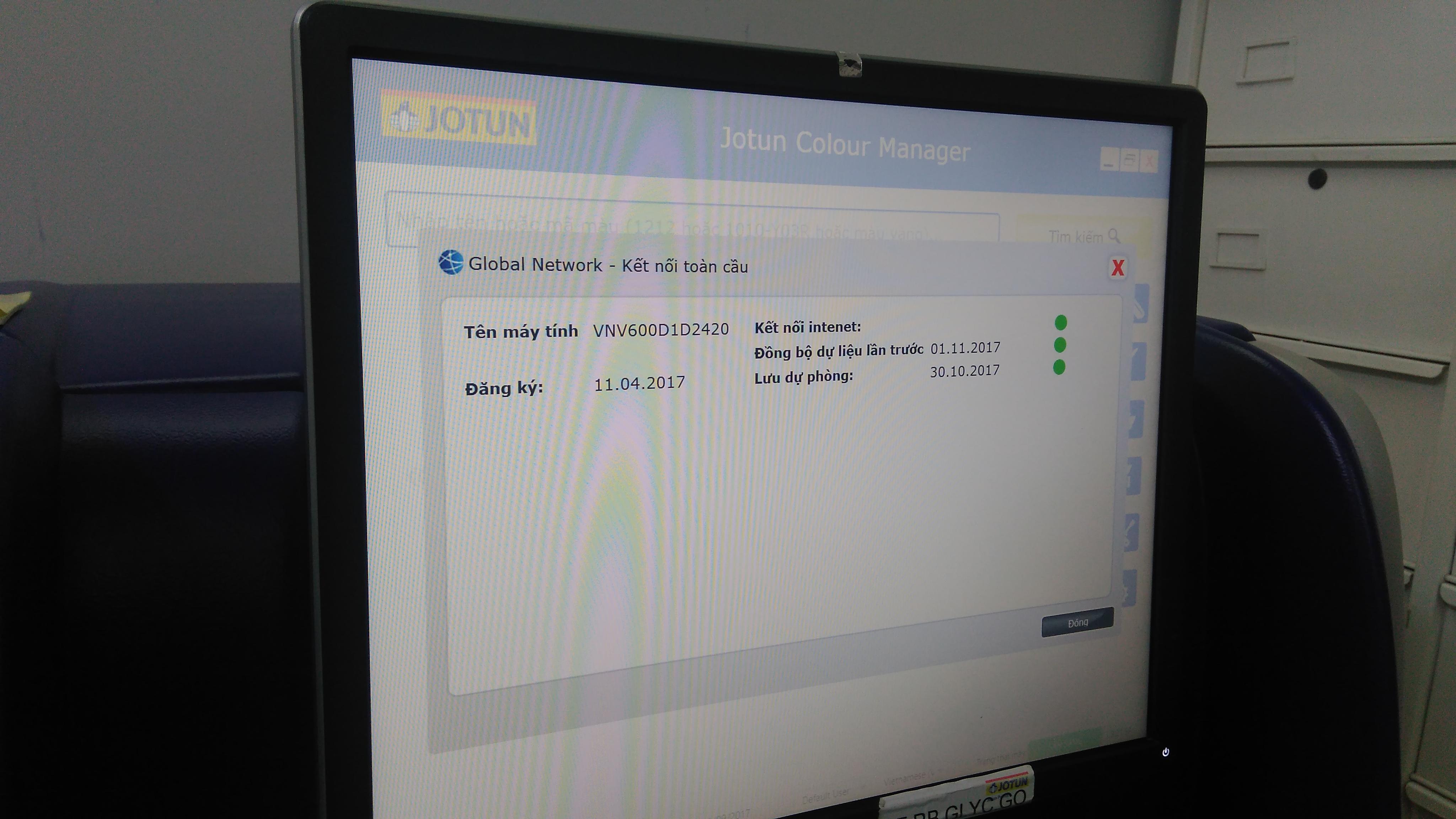 Phần mềm Jotun được kết nối toàn cầu