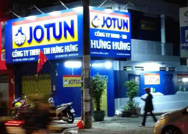 Đại lý sơn Jotun quận 1