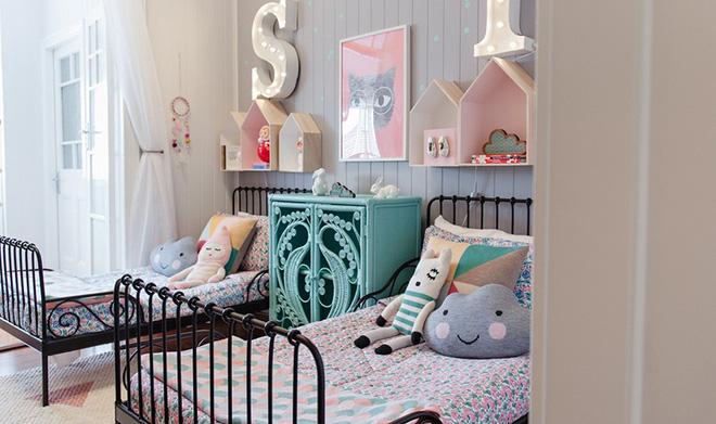 các mẫu phòng ngủ đẹp cho bé