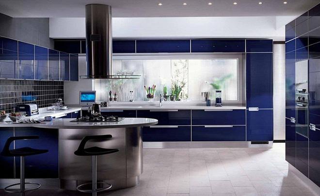 cách bài trí màu sắc trong phòng bếp