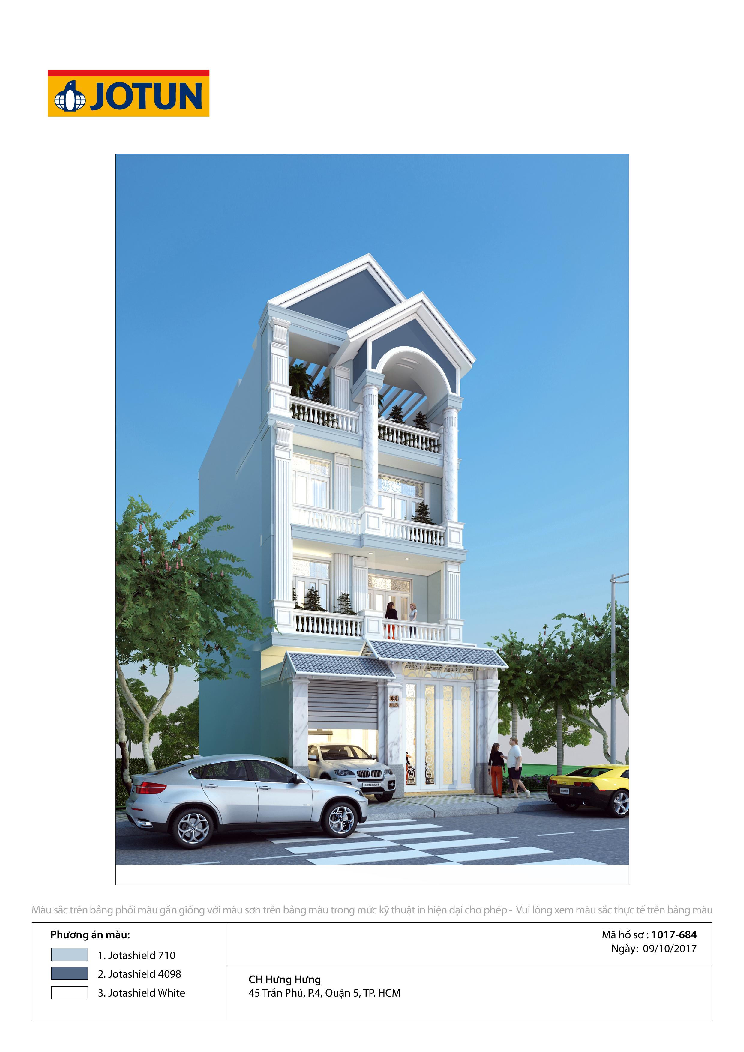 Sơn Jotun - Những kiểu nhà phố đẹp nhất, sơn jotun nhà phố màu nào đẹp, màu sơn jotun ngoại thất đẹp nhất, sơn jotun bên ngoài nênphối cảnh sơn jotun ngoại thất sơn màu gì